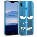 TPU Case Hülle Huawei P20 Lite Dont Touch