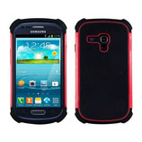 TPU Hard Case Samsung Galaxy S3 Mini rot