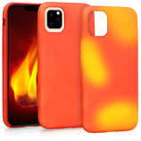 Case Hülle Apple iPhone 11 Farbwechsel Orange