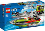 LEGO 60254 City Rennboot-Transporter