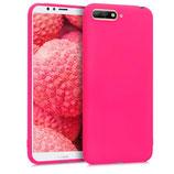 TPU Case Hülle Huawei Y6 (2018) Pink