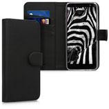 Wallet Case Samsung Galaxy J6 Schwarz
