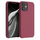 Case Hülle Apple iPhone 12 Mini Kastanienrot