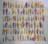 500 Stehende Figuren Spur N 1:160