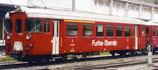 BEMO 3275 209 FO Abt 4194 Steuerwagen dunkelrot einseitig Furka-Oberalp weiß