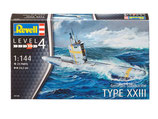 Revell 05140 German Submarine TYPE XXIII