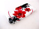 Apple iPhone 5 Schutzhülle Cover Case Rote Blume