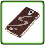HARD CASE F. SAMSUNG GALAXY S4 I9500 COVER BRAUN