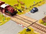 Noch 14305 Bahnübergang Holzbohlen H0