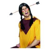 Indianer Pfeil durch Kopf Kostüm