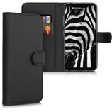 Wallet Case Hülle LG G8s ThinQ Schwarz
