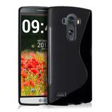 TPU Silikon Case S-Line LG G4 Schwarz