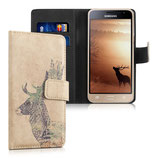Wallet Case Samsung Galaxy J3 2016 Hirsch
