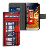 Wallet Case Samsung Galaxy J3 2016 Telefon London