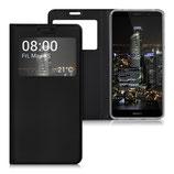 Flip Case Huawei Mate 9 Fenster Schwarz