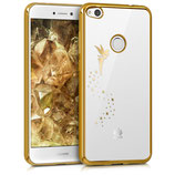 Crystal Case Huawei P8 Lite 2017 Fee Gold