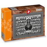 CARTA.MEDIA 7401 Typisch Schweiz Puzzle