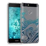 Crystal TPU Hülle Huawei Nova Wellen