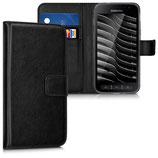 Wallet Case Samsung Galaxy Xcover 4 Schwarz