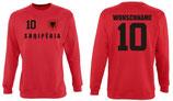 Albanien Pullover EM 2016 Name/Druck Rot