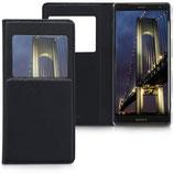 Flip Cover Sony Xperia XZ2 Fenster Schwarz