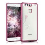 Crystal Case Hülle Huawei P9 Fee Pink