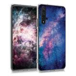 TPU Case Hülle Huawei Nova 5T Galaxie