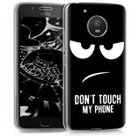 TPU Case Hülle Motorola Moto G5 Dont Touch