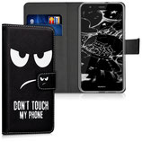 Wallet Case Hülle Huawei P10 Lite Dont Touch