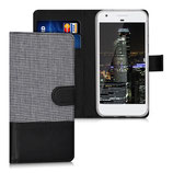 Wallet Case Google Pixel Canvas Schwarz