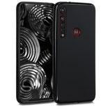 Case Hülle Motorola Moto G8 Plus Schwarz
