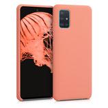 TPU Case Samsung Galaxy A51 Koralle matt