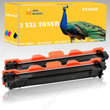 2x Toner Schwarz Brother TN-1050