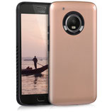 Hybrid Case Motorola Moto G5 Plus Rosegold