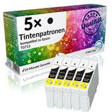 5x Tintenpatronen Epson T0711 Black