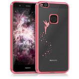 TPU Case Hülle Huawei P10 Lite Fee Pink