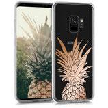 TPU Case Hülle Samsung Galaxy S9 Ananas