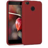 TPU Case Cover Xiaomi Redmi 4X Rot
