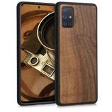 Walnussholz Case Samsung Galaxy A71
