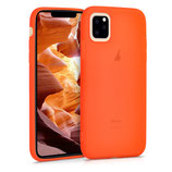 TPU Case Hülle Apple iPhone 11 Neon Orange