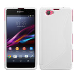 Case S-Line Sony Xperia Z1 Compact Weiss