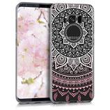 Crystal Case Samsung Galaxy S8+ Sonne Rosa Schwarz