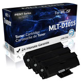 3x Toner Schwarz Samsung Toner MLT-D101S