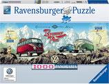 Ravensburger 15102 Mit dem VW Bulli über Brenner