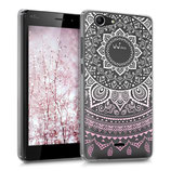 Crystal Case Wiko Pulp FAB 4G Indische Sonne Rosa