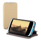 Flip Case Hülle HTC Desire 526G Gold