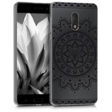 TPU Case Hülle Nokia 6 Aztec Blume