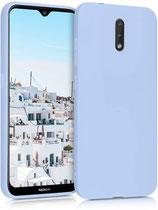 TPU Case Hülle Cover Nokia 2.3 Hellblau