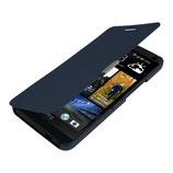 Flip Cover Hülle für HTC One M7 Blau