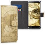 Wallet Case Hülle LG G6 Weltkarte
